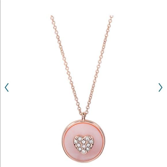 "LC Conrad Lauren/Love"" Heart Necklace"